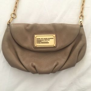 Marc Jacobs Cross Body Clutch, removable chain